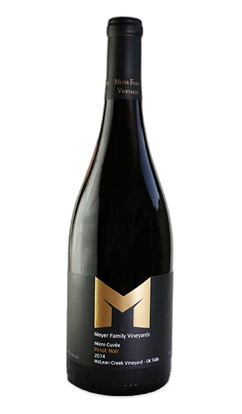 Meyer Family Vineyards Bottle