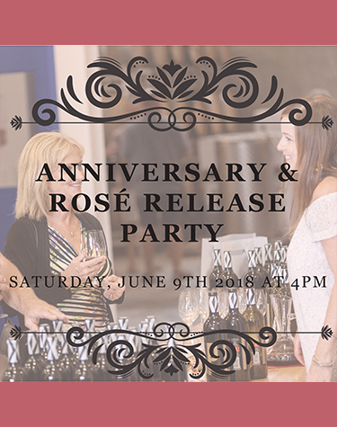 Anniversary & Rosé Release Party